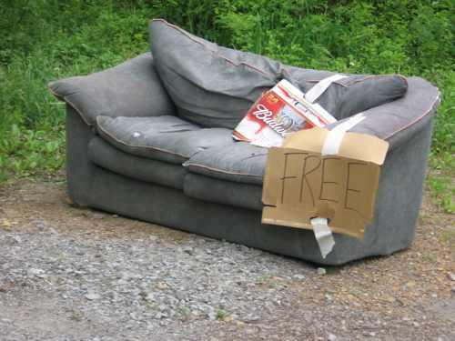 5 начина да се отървете от големите мебели, преди да се преместите